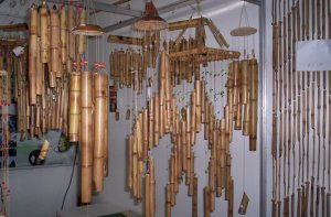 Elton Standt - Artesanato em Bambu